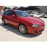 11/2009 Alfa Romeo 159 1.9 JTD MY09 4d Sedan Red 1.9L