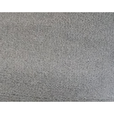Roll End of Grey Wool Carpet