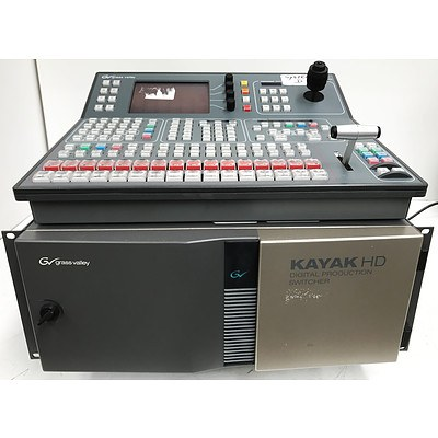 Grass Valley Kayak HD Digital Production Switcher & Controller