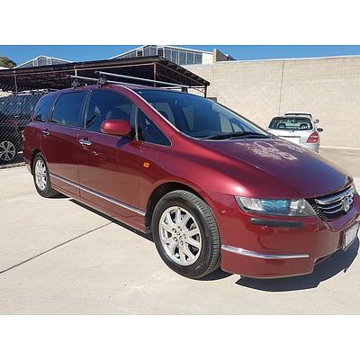 1/2005 Honda Odyssey Luxury 20 4d Wagon Maroon 2.4L