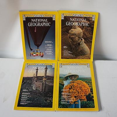 Approximately 200 National Geographic Magazines 1977-2016