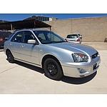 2/2005 Subaru Impreza GX (awd) MY05 5d Hatchback Silver 2.0L