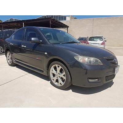 11/2006 Mazda Mazda3 SP23 BK MY06 UPGRADE 4d Sedan Black 2.3L