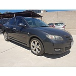11/2006 Mazda Mazda3 SP23 BK MY06 UPGRADE 4d Sedan Black 2.3L
