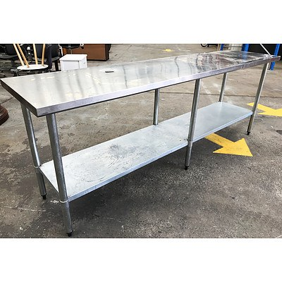 Brayco Stainless Steel Bench