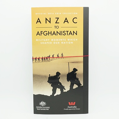 Complete Set of ANZAC to Afghanistan Official 2016 Coin Collection Military Moments Which Shaped Our Nations