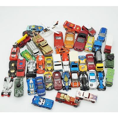 Group of Model Cars, Including Hot Wheels, Matchbox and Corgi