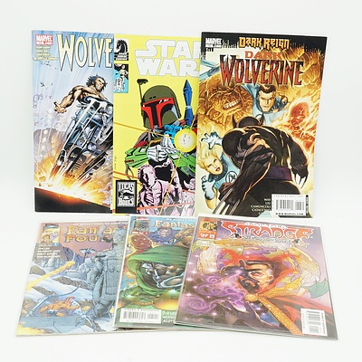 Group of Comics Including Star Wars, Crimson, Iceman, Max Steel and More