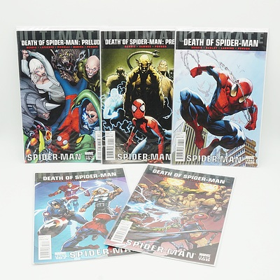 Five Issues of The Death of Spiderman