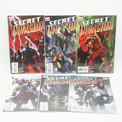 Complete Set of the Secret Invasion, Eight Comics