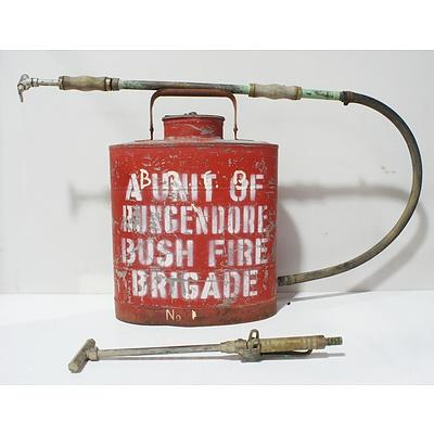 Rego Red Fire Extinguisher