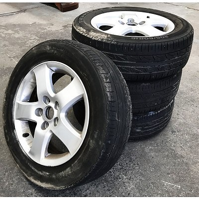 Set of 4 Firestone F01 16inch Rims & Tyres for 2004 Toyota Camry