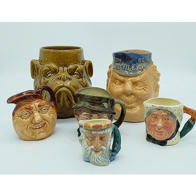 Six Character Mugs Including Rum Rum Beenleigh, Ladder, Neptune and More