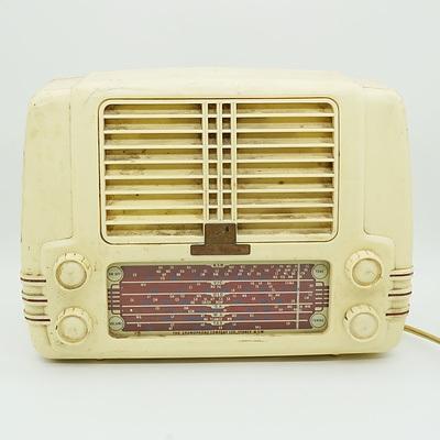His Masters Voice Little Nipper Radio
