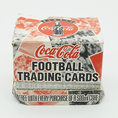 Coca Cola Classic Kangaroos Football Trading Cards 1995 With Approximately 100 Cards