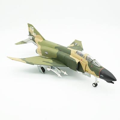Diecast Model of Robin Olds F-4 Phantom II Fighter 'Scat XXVII'