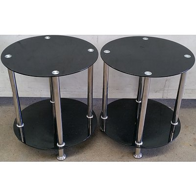 Occasional Tables - Lot of Two