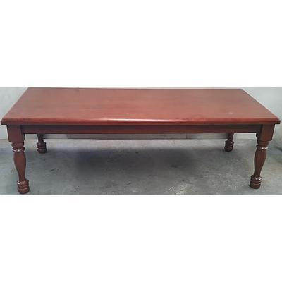 Maple Veneer Coffee Table