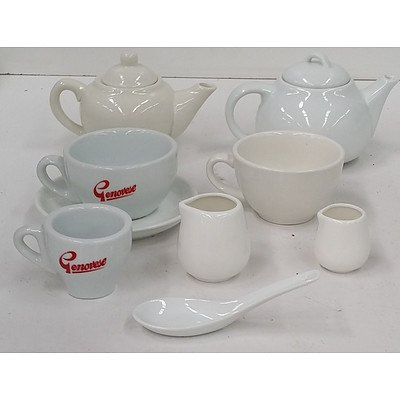 Assorted Commercial Crockery - Lot of 92 Pieces