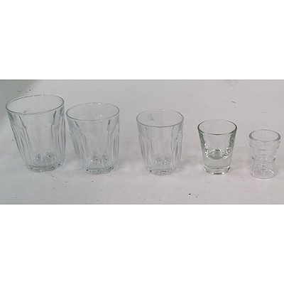 Assorted Commercial Glassware- Lot of 41 Pieces
