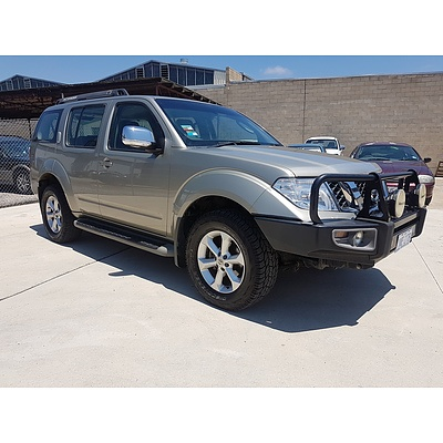 4/2012 Nissan Pathfinder ST-L (4x4) R51 SERIES 4 4d Wagon Gold 2.5L