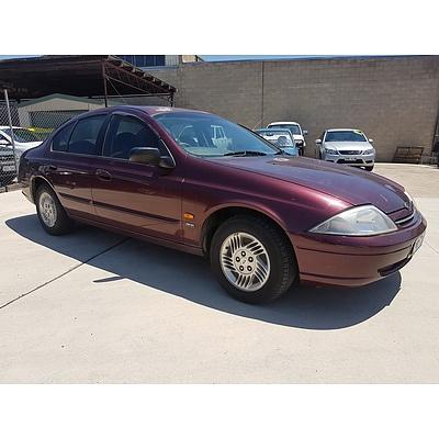 2/1999 Ford Falcon Classic AU 4d Sedan Maroon 4.0L