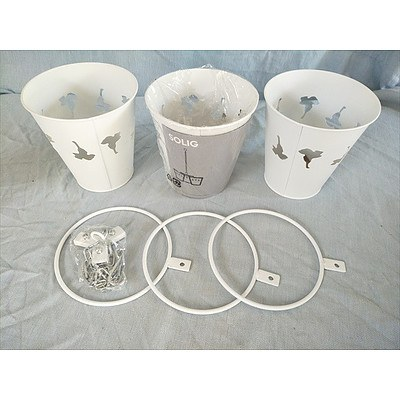 Solig Hanging pot trio from IKEA