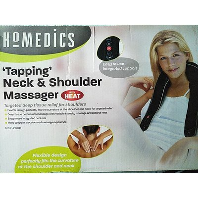 Homedics Tapping neck and shoulder massager with heat