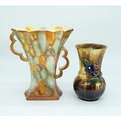 St Peter Graz Pottery and Falconware Vases