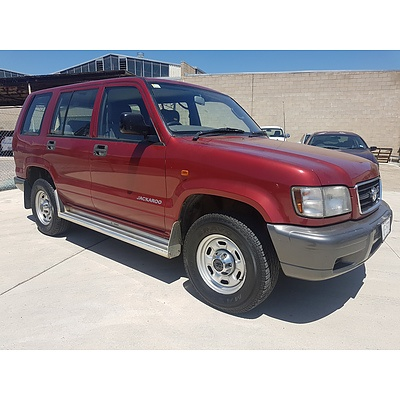 5/1998 Holden Jackaroo LWB (4x4)  4d Wagon Red 3.5L