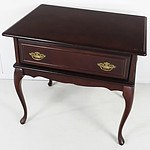 Cabriole Legged Bedside Table