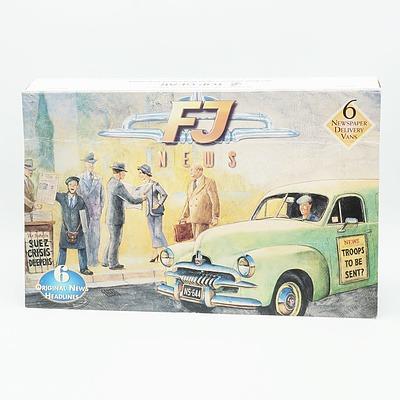 Top Gear FJ News The Headlines of the Fifties Model cars