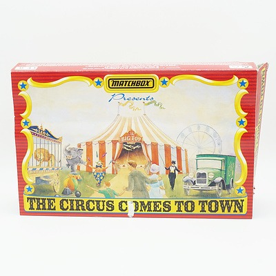 1994 Matchbox The Circus Comes to Town Model Cars
