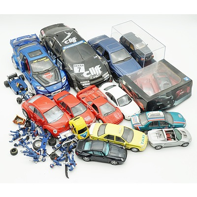Large Group of Model Cars, Including Pauls Model Art, Matchbox, Paradise Garage and More