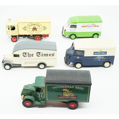 Five Models of Yesteryear, Including The Times, Moosehead Beer, Flowers Fine Ale and More