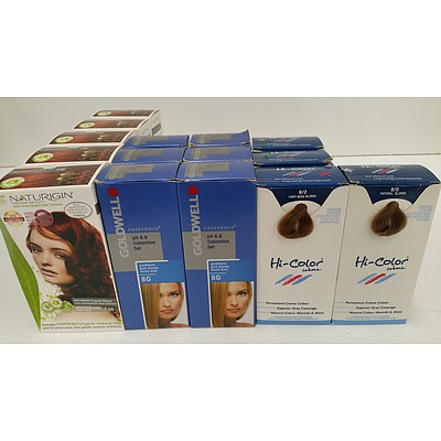 Hair Dyes, Colours and Colour Shampoo - Lot of 180 - Brand New - RRP $3285.00