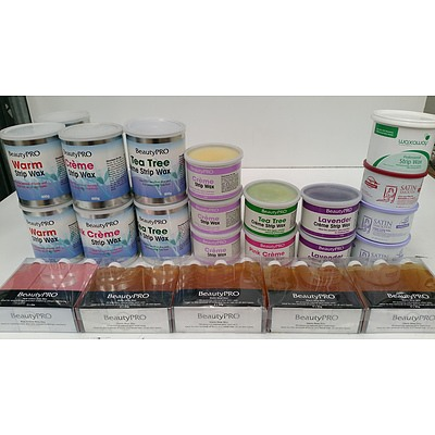 Waxing, Cleansers, Skin Tanning Products - Lot of 131 - Brand New - RRP $1800.00