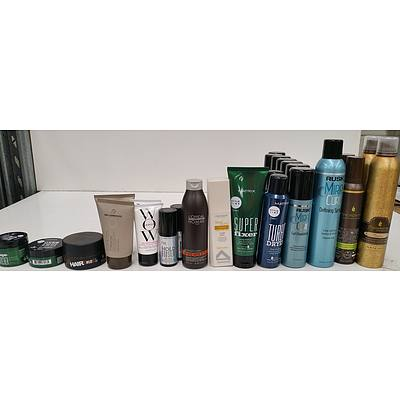 High End and Regular Hair Styling Products - Lot of 114 - Brand New - RRP $2765.00