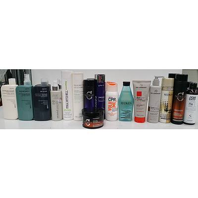 Assorted Shampoos and Conditioners - Lot of 26 - Brand New - RRP $550.00