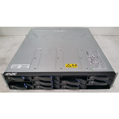 IBM Chassis-E 12-Bay Hard Drive Array w/ 11TB of Total Storage & Dell PowerVault MD3620f 24-Bay SAS Hard Drive Array
