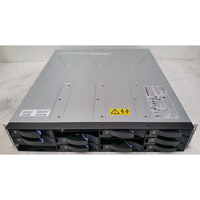 IBM Chassis-E 12-Bay Hard Drive Array w/ 12.4TB of Total Storage