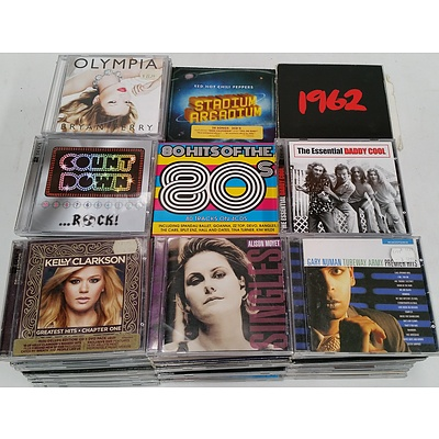 Assorted CD's - Lot of 100