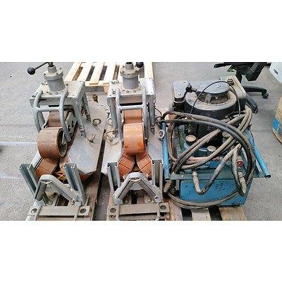 Hydraulic Driven Cable Feeders (2) & Hydraulic Pump