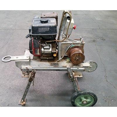 Petrol Motor Driven Capstan Winch