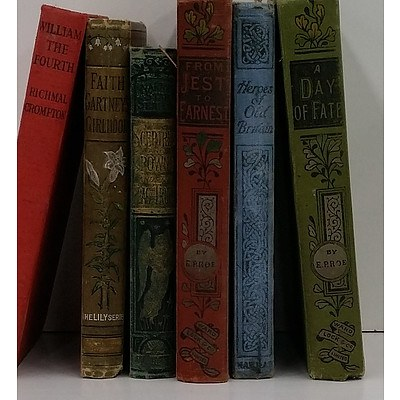 Group of Vintage Historical Novels Circa 1930 to 1950, Inlcuding Heroes of Old Britain David W Oates and From Jest to Earnest EP Roe
