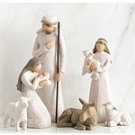 Willow tree figurines - Nativity  & Shepherd and Stable Animals
