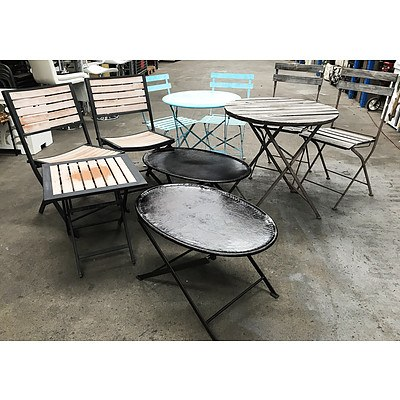 11 Items of Outdoor Furniture