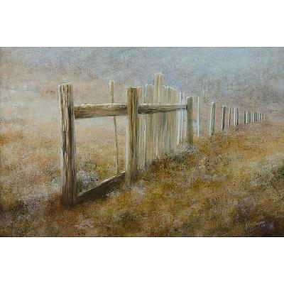 TRAYNOR John, 'Long-forgotten Highland Fence', 1986, oil on board