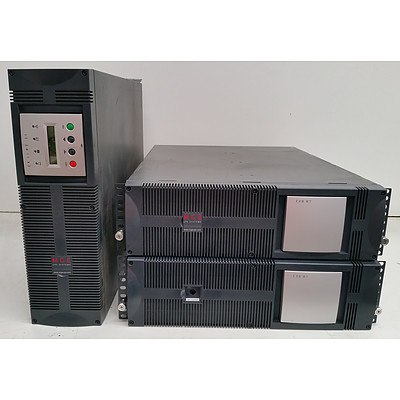 MGE EX11RT 3:1 UPS Systems w/ 2 x Comet EXB 7 RT Battery Modules
