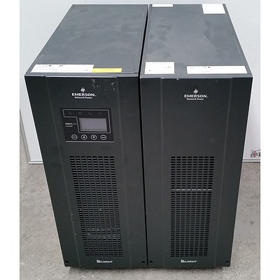 Emerson Liebert (GXT3-10000T230) 10000VA UPS w/ Emerson Liebert (GXT3-240TBATTCE) Battery Enclosure